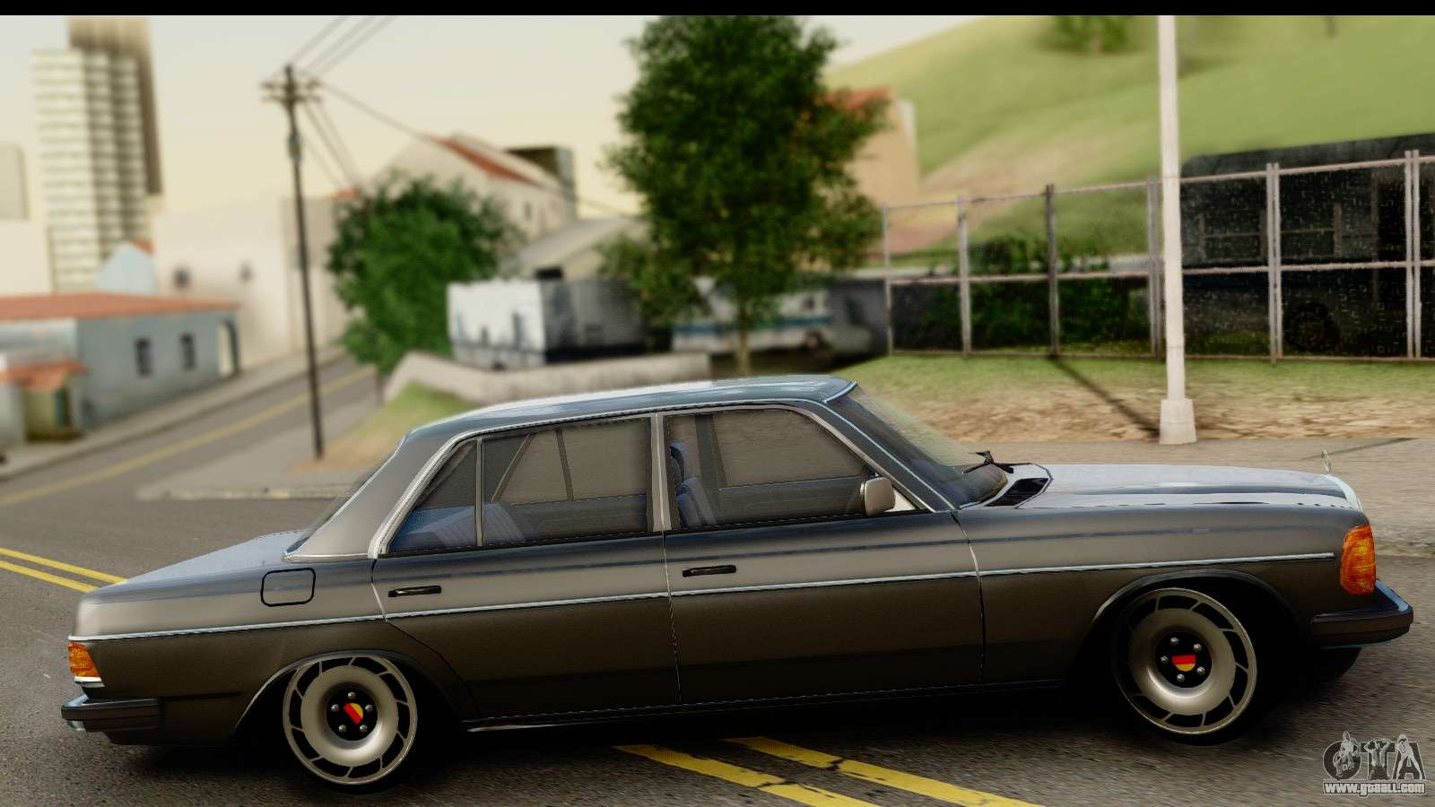 mercedes benz 240 w123 stance for gta san andreas. Black Bedroom Furniture Sets. Home Design Ideas