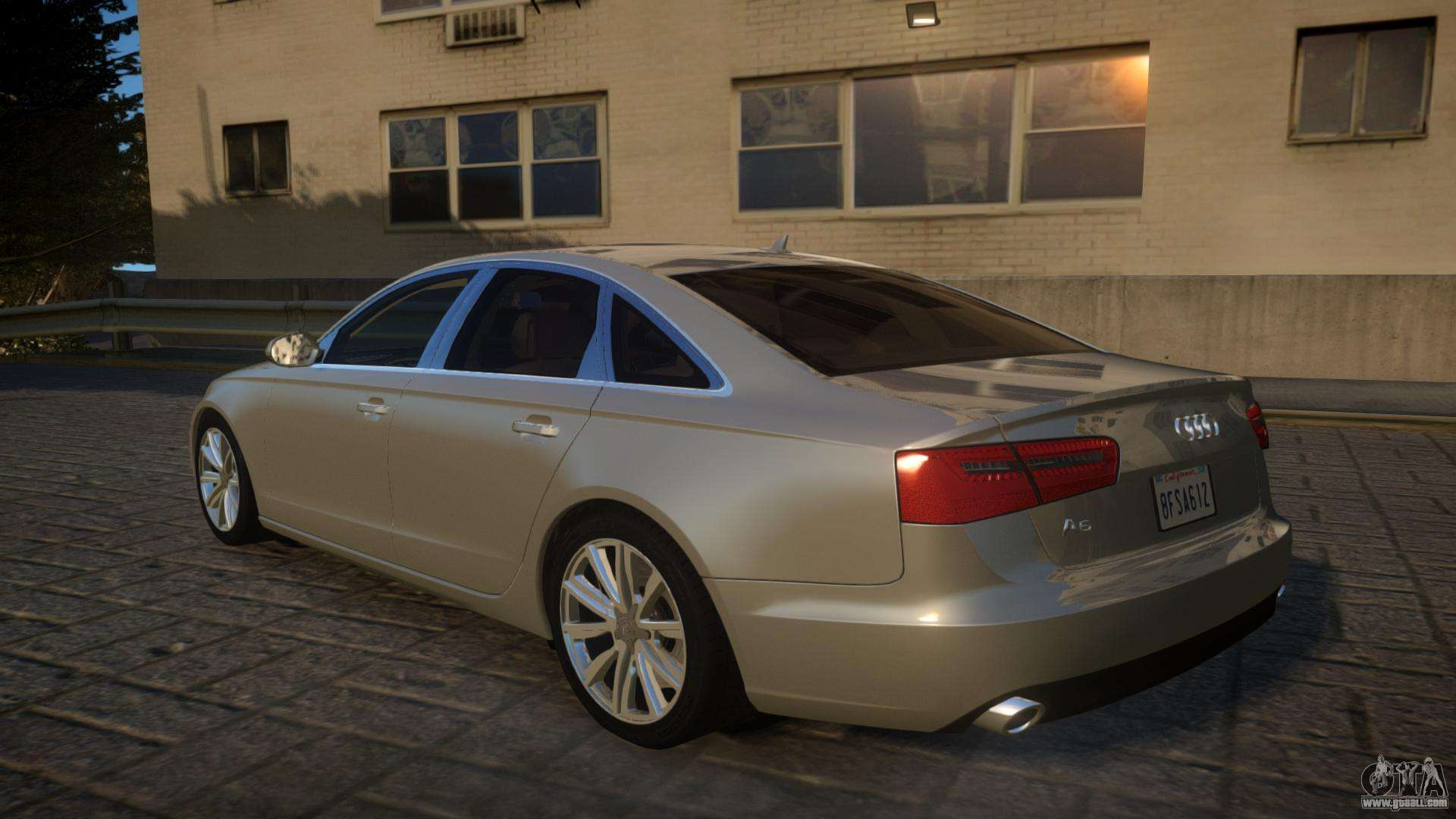 audi a6 2012 v1 0 for gta 4. Black Bedroom Furniture Sets. Home Design Ideas