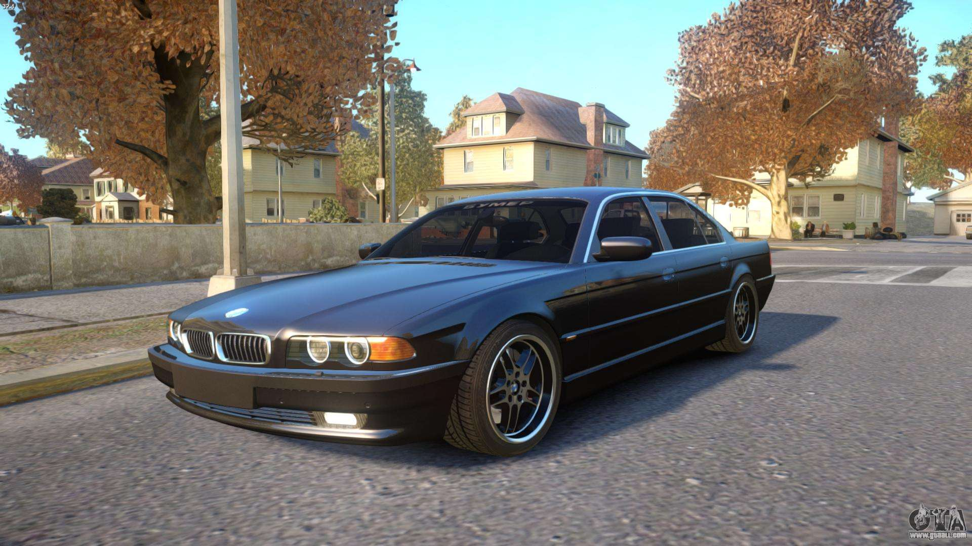 bmw 750i e38 1994 final for gta 4. Black Bedroom Furniture Sets. Home Design Ideas