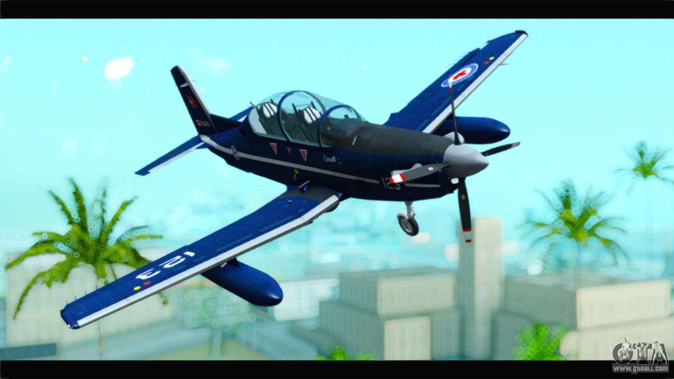 Beechcraft T-6 Texan II Royal Canadian Air Force for GTA San