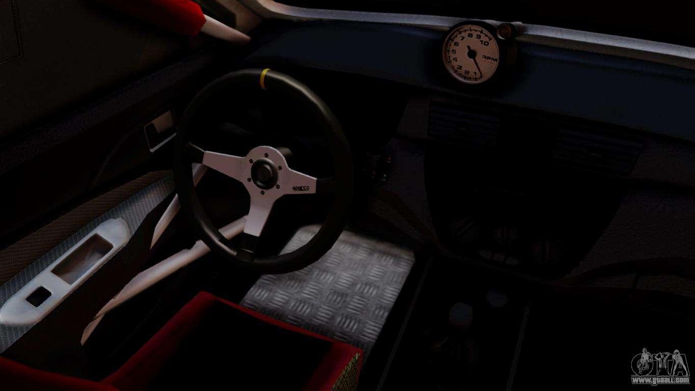 Mitsubishi Lancer Evo IX Monster Energy For GTA San Andreas Back Left View