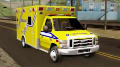 Ford F-450 2014 Quebec Ambulance for GTA San Andreas