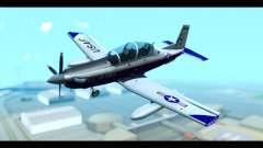 Beechcraft T-6 Texan II US Air Force 2 for GTA San Andreas