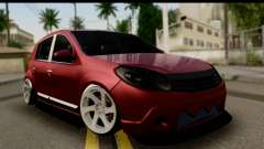 Dacia Sandero Low Tuning for GTA San Andreas