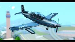 Beechcraft T-6 Texan II United States Navy 2 for GTA San Andreas