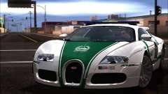 Bugatti Veyron 16.4 Dubai Police 2009 for GTA San Andreas