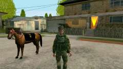 Kuban Cossack for GTA San Andreas
