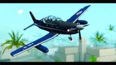 Beechcraft T-6 Texan II Royal Canadian Air Force for GTA San Andreas
