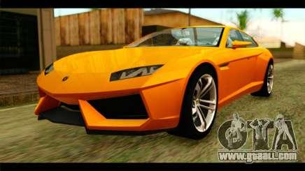 Lamborghini Estoque for GTA San Andreas