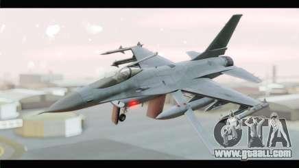 F-16A Republic of Korea Air Force for GTA San Andreas
