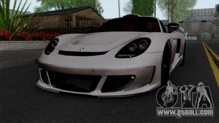 Gemballa Mirage GT v1 Windows Down for GTA San Andreas