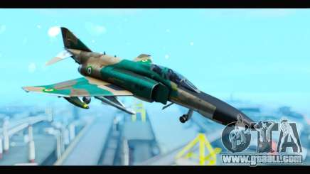 McDonnell Douglas F-4 IRIAF for GTA San Andreas