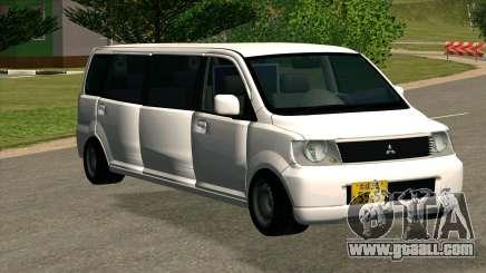 Mitsubishi EK Wagon Limo for GTA San Andreas
