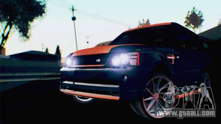 Range Rover Sport 2012 Samurai Design for GTA San Andreas