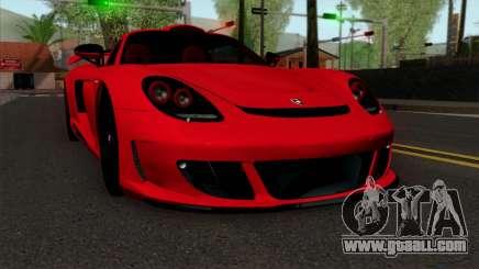 Gemballa Mirage GT v3 Windows Down for GTA San Andreas