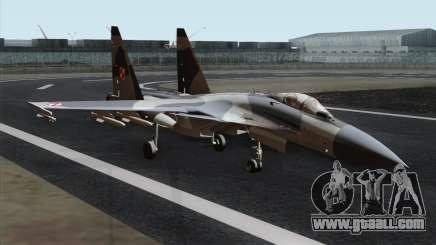 SU-37 Flanker-F Polish Air Force for GTA San Andreas