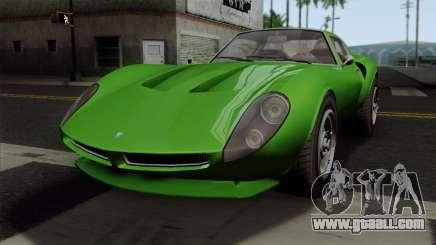 GTA 5 Grotti Stinger GT v2 SA Mobile for GTA San Andreas