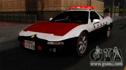 Honda NSX Police Car for GTA San Andreas