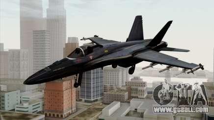 FA-18 HARV for GTA San Andreas