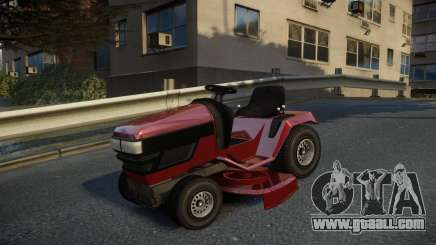 GTA V Lawn Mower for GTA 4