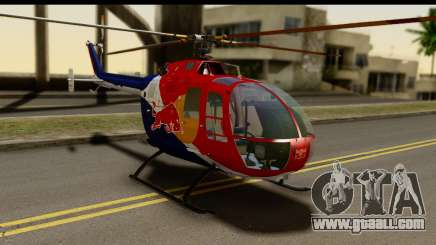 MBB Bo-105 Red Bull for GTA San Andreas
