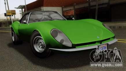 GTA 5 Grotti Stinger GT v2 for GTA San Andreas