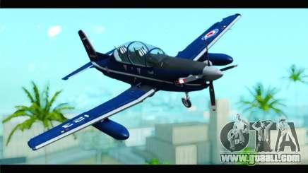 Beechcraft T-6 Texan II Royal Canadian Air Force for GTA San Andreas