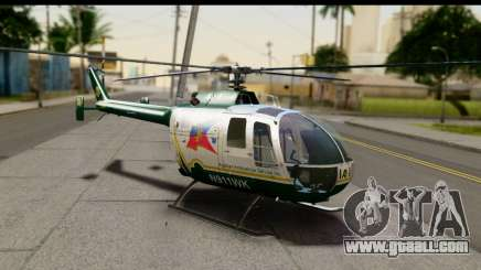 MBB Bo-105 Air Med for GTA San Andreas