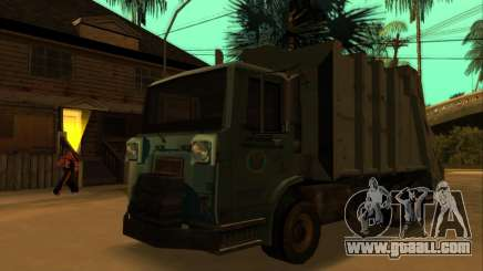 TDK Volvo Xpeditor Garbage for GTA San Andreas