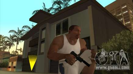 Great Russian guns for GTA San Andreas