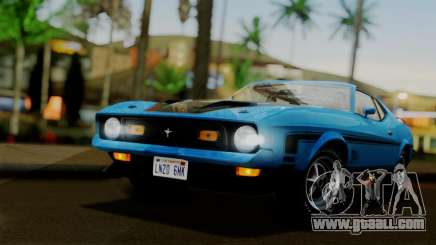 Ford Mustang Mach 1 429 Cobra Jet 1971 IVF АПП for GTA San Andreas
