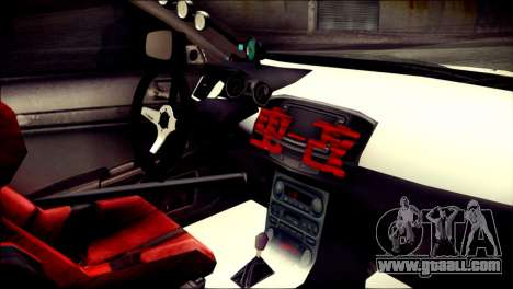 Mitsubishi Lancer Evolution X Juuzo Itasha for GTA San Andreas right view