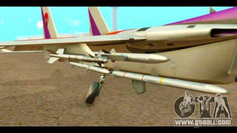 F-15C Air Combat for GTA San Andreas right view
