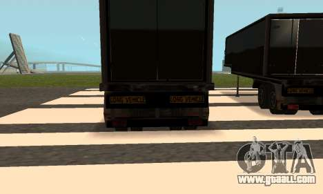 PS2 Article Trailer for GTA San Andreas side view