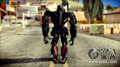 Lockdown Skin from Transformers for GTA San Andreas second screenshot