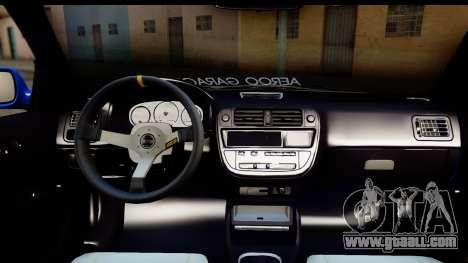 Honda Civic Hatchback for GTA San Andreas side view