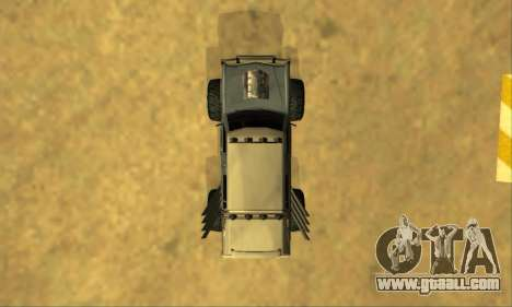Hellish Extreme CripVoz RomeRo 2015 for GTA San Andreas interior