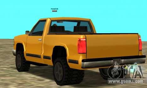 PS2 Yosemite for GTA San Andreas right view
