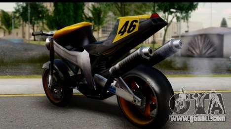 NRG Streetfighter for GTA San Andreas left view