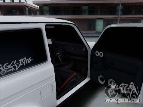 Lada Niva for GTA San Andreas interior
