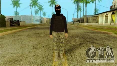 Sicario Skin v10 for GTA San Andreas