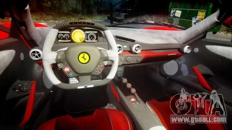 Ferrari LaFerrari 2013 HQ [EPM] PJ3 for GTA 4 inner view