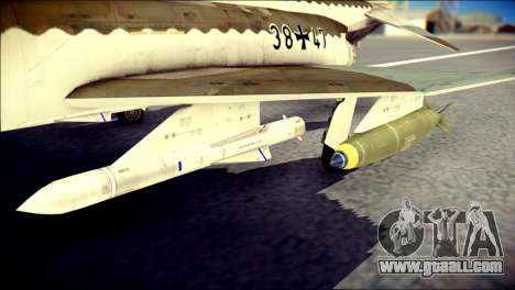 McDonnell Douglas F-4F Luftwaffe for GTA San Andreas right view