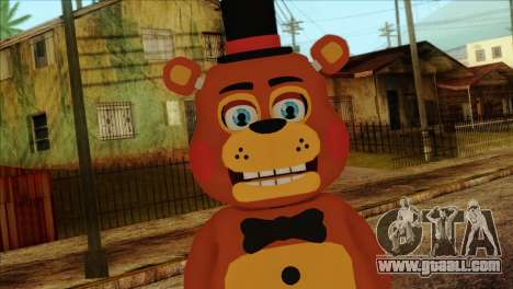 Toy Freddy from Five Nights at Freddy 2 for GTA San Andreas third screenshot