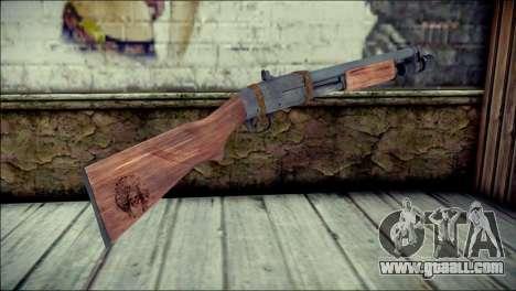 Rumble 6 Chromegun for GTA San Andreas second screenshot