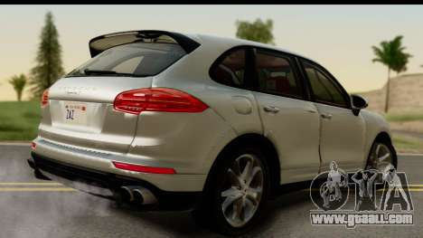 Porsche Cayenne S 2015 for GTA San Andreas left view