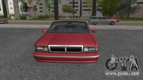 Premier Cabrio for GTA San Andreas right view