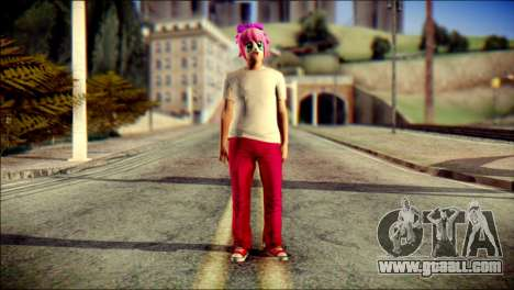 Skin Kawaiis GTA V Online v3 for GTA San Andreas
