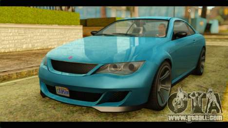 GTA 5 Ubermacht Zion XS IVF for GTA San Andreas