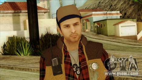 Big Rig Alex Shepherd Skin for GTA San Andreas third screenshot